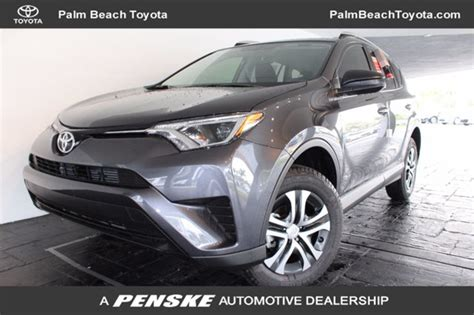Toyota Parts West Palm 2017 Used Toyota Rav4 Le Fwd At Palm Toyota Serving