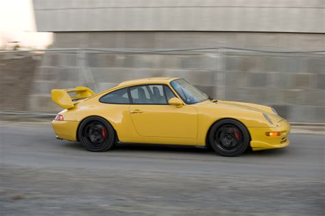 porsche 993 parts 1995 993 quot rs clubsport quot look speed yellow pelican parts