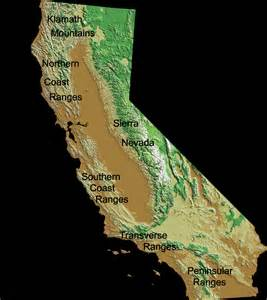 california mountains map file california coast ranges png wikimedia commons