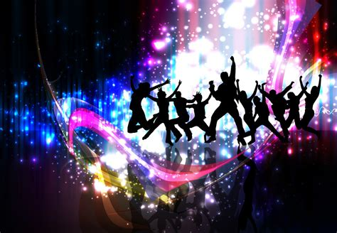Colorful party night celebration background free vector