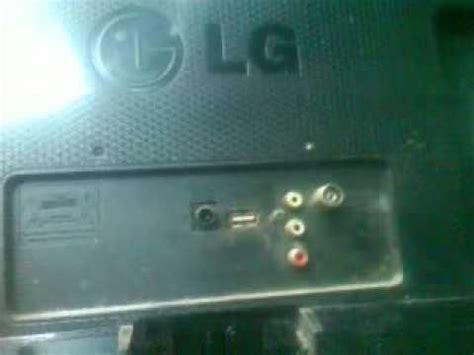 tv led lg kerusakan gambar gelap suara ada