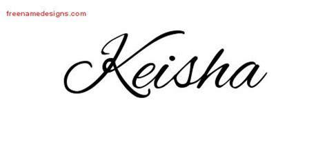 Tattoo Name Keisha | keisha archives free name designs