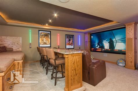 the basement company wars themed home theater traditional basement minneapolis by finished basement company