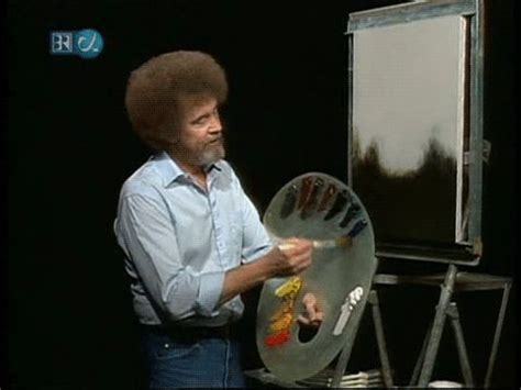 bob ross painting a happy tree bob ross happy trees i remember