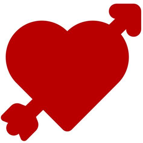 imagenes de corazones flechados por cupido iconos de corazones cupidos y figuras de amor