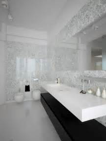 black white contemporary bathroom design interior design