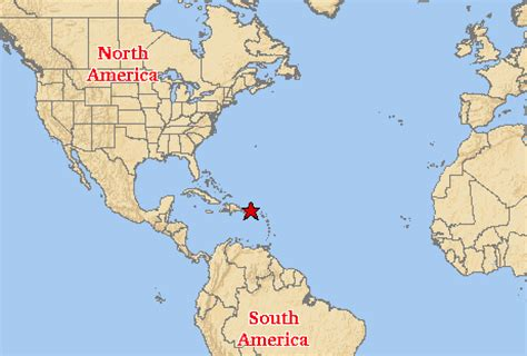 maps: world map puerto rico