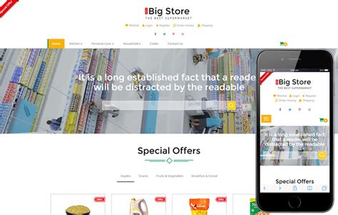 templates for website for online shopping big store an e commerce online shopping bootstrap