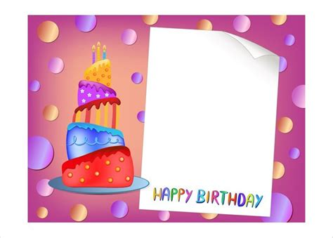birthday cards template birthday card templates best business template