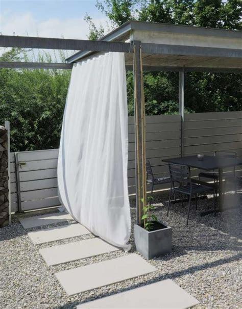 sichtschutz vorhang garten outdoor vorhang sonnen tag transparent christian