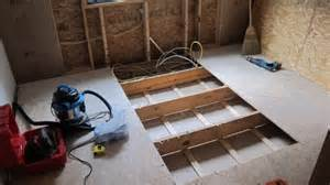 how to remove a piece of wood subfloor ask the builder