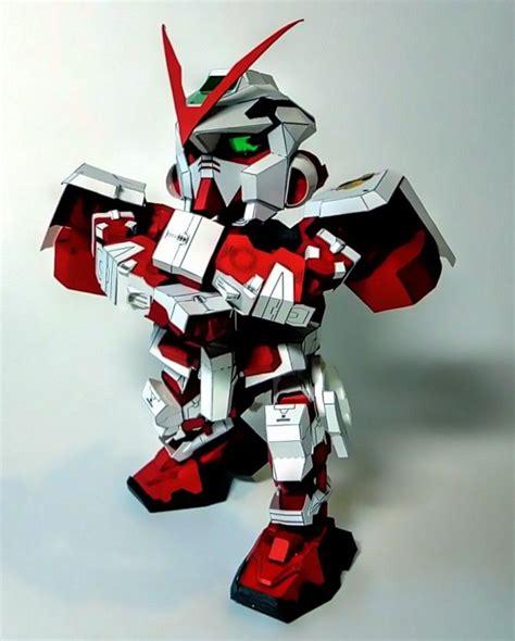 Sd Gundam Papercraft - sd gundam astray frame papercraft papercraft