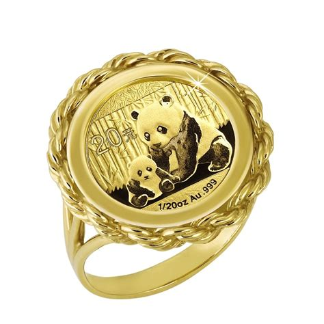 the 2012 limited edition gold panda coin ring the