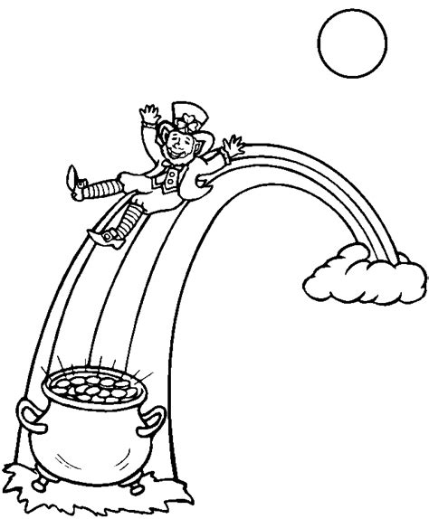 Saint Patrick S Day Coloring Page 003 St S Day Coloring Pages For On