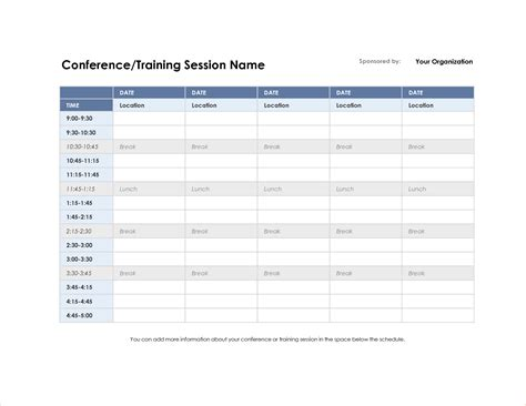 Restaurant Employee Schedule Template Excel And 5 Conference Schedule Template Procedure Restaurant Employee Schedule Template Excel