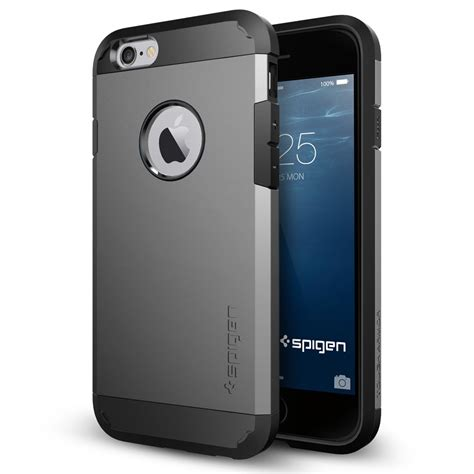Casing Spigen Tough Armor Iphone 6 Slim Keren Logo Apple Sgp the best iphone 6 cases