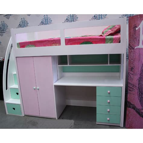 space saver bed buy kids space saver loft bed frame 1800h online in
