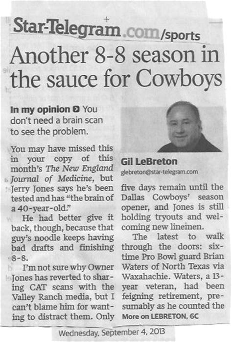 dallas newspaper sports section the love song of the north american douchebag poetry by
