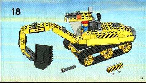lego digger 7248 lego excavator 7248 city