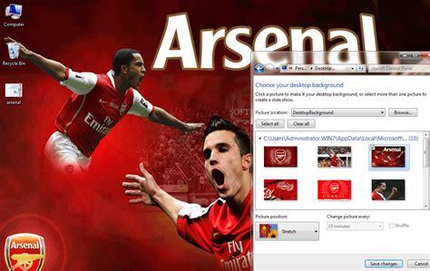 download themes arsenal arsenal windows 7 theme download
