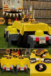 boys construction themed birthday party ideas spaceships and laser beams