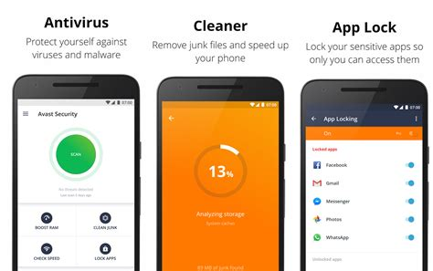 best antivirus free for android best free antivirus apps for android in 2018