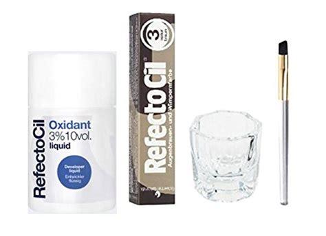 refectocil cream hair dye natural brown refectocil color kit natural brown cream hair dye liquid