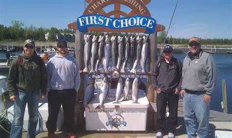 Door County Fishing Charters by Fishing Door County Choice Salmon And Walleye