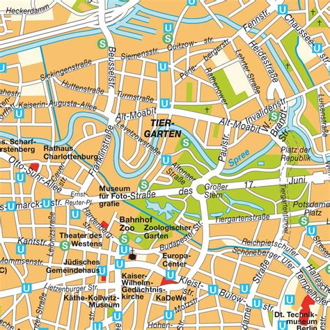 berlin germany map berlin germany subway map and maps on