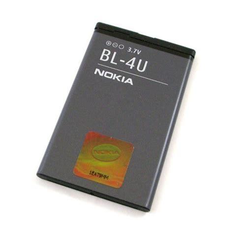 Battery Nokia Bl 4u Original genuine nokia bl 4u battery 1000mah bl4u