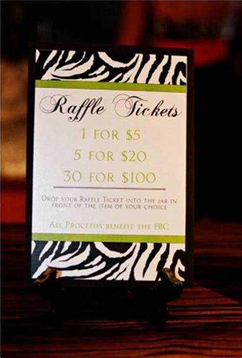 Raffle Sign Ideas Raffle Idea Events Ideas Fundraising