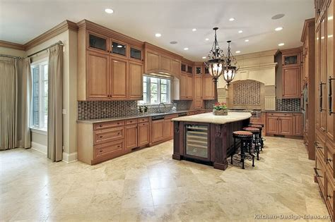 Light Colored Kitchen Cabinets Pictures Of Kitchens Traditional Light Wood Kitchen Cabinets Page 7