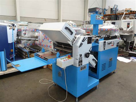 Paper Folding Machines For Sale - folders used finishing machines guk fa 36 4 paper folding