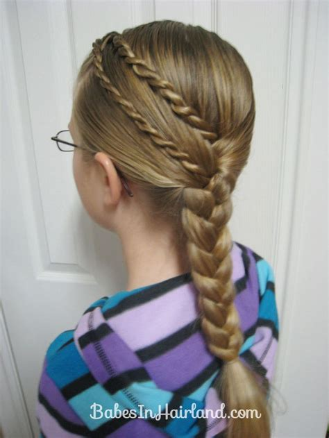 cute girl hairstyles rope braid 42 best images about braids for long hair on pinterest