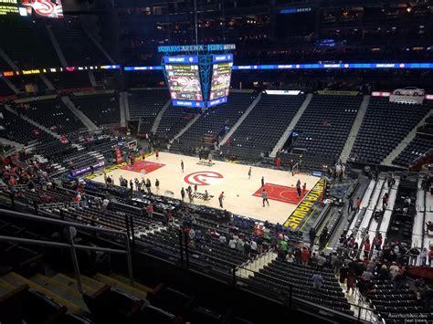 philips arena section 310 philips arena section 308 atlanta hawks rateyourseats com