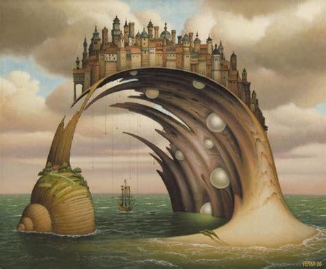 imagenes de surrealismo y sus pintores pinturas surrealistas de jacek yerka arte feed
