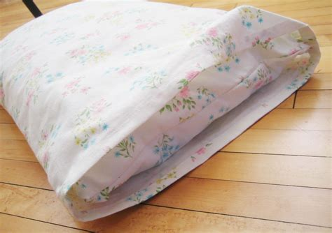 Pillowcase For Toddler Pillow by Toddler Pillow Sewn From A Vintage Thrifted Pillowcase A
