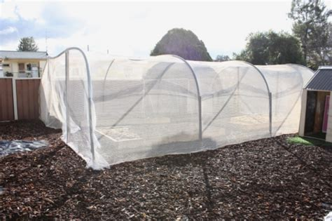 Ag Pipe Hoop Vegetable Netting Our Family Projects Netting For Vegetable Gardens