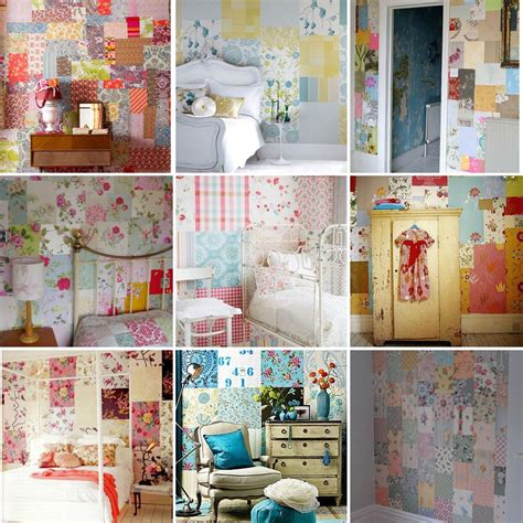 Patchwork Wall - patchwork wallpaper 28 images delight in fancy