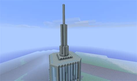 freedom tower minecraft project