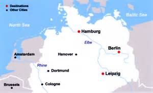 Map Of Northern Germany by Travel Pix Northern Germany
