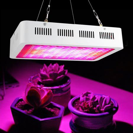 walfront  led plant grow lights full spectrum ir uv