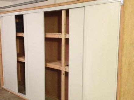 building garage cabinets with sliding doors 34 garage storage with doors diy garage cabinet doors