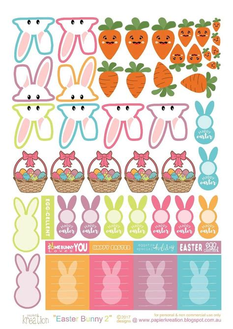 free printable easter planner stickers 5511 best images about free printables and more on