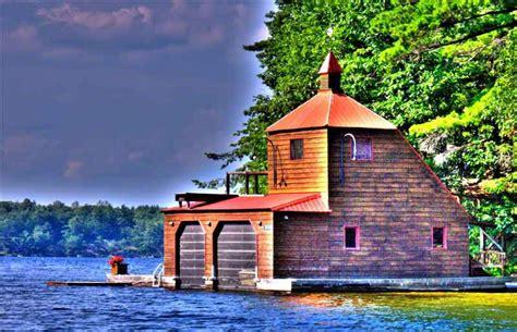 boat rentals around me a boathouse near tobin island on lake rosseau in muskoka