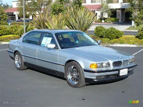 1998 bmw 740il 1998 arctic silver metallic bmw 7 series 740il sedan