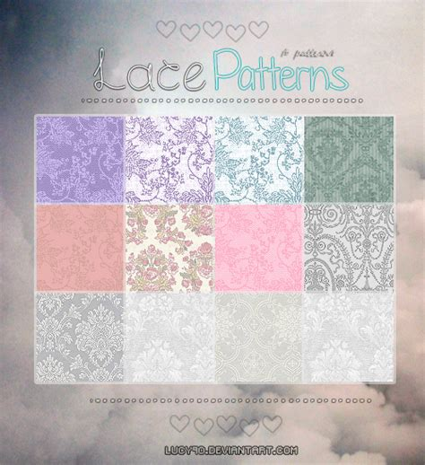 pattern photoshop pat lace patterns pat files by lucy9o on deviantart