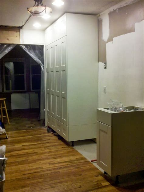 kitchen cabinets for tall ceilings how to extend tall akurum cabinet base unit for floor to