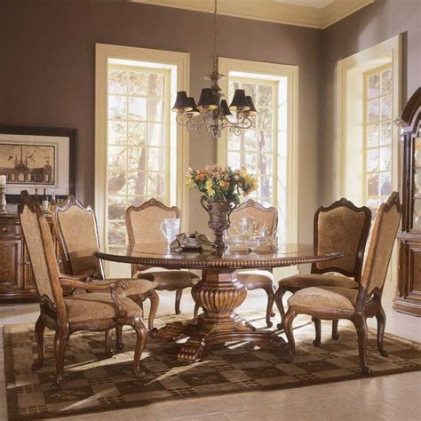 large formal dining room tables big round formal dining room tables buy villa cortina