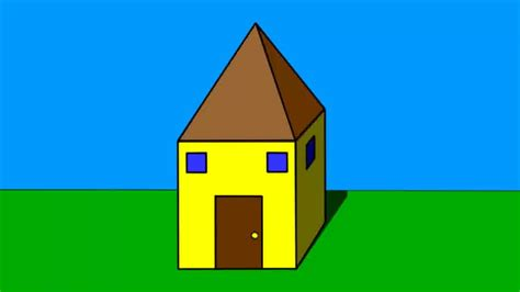 easy houses to draw 3 ways to draw a simple house wikihow